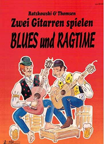9789069110967: 2 Guitares jouent le blues et le Ragtime