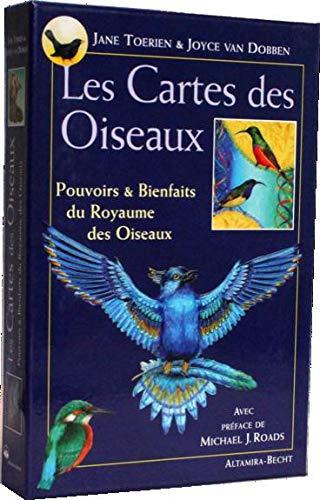 LES CARTES DES OISEAUX ; POUVOIRS ET BIENFAITS DU ROYAUME DES OISEAUX: TOERIEN, JANE;VAN DOBBEN, ...