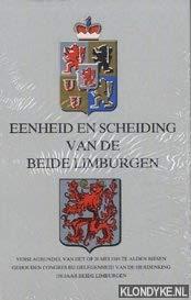 Eenheid en scheiding van de beide Limburgen: Kremers, J. /