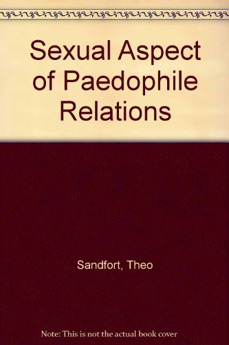 9789070154172: Sexual Aspect of Paedophile Relations
