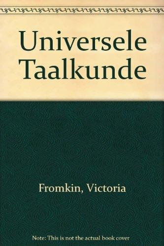 9789070176990: Universele Taalkunde