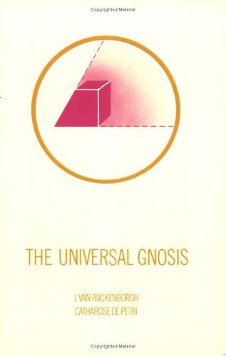 9789070196578: The universal gnosis (Cornerstone series)