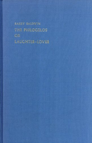 9789070265458: The Philogelos or Laughter-Lover (London Studies in Classical Philology Series, 10)