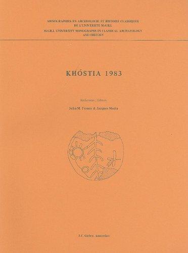 Khostia 1983: Rapport Preliminaire sur la Seconde Campagne de Fouilles Canadiennes a Khostia en ...