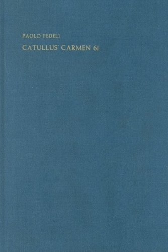 catullus epithalamium