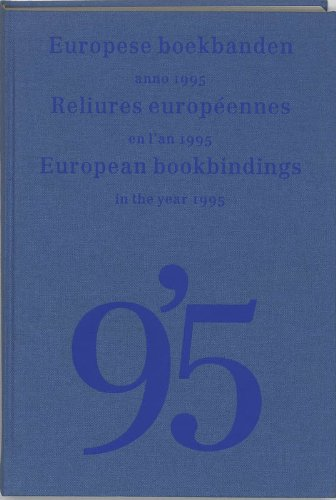 European Bookbindings in the Year 1995