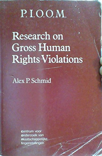 Research on gross human rights violations: A programme (Publications C. O. M. T): Alex P Schmid