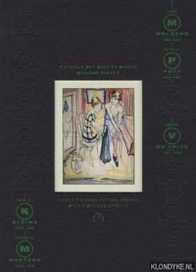 Vijf kunstenaars van De Ploeg: Bezield met: Burema, Alma ;