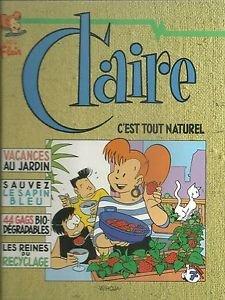 9789072240132: C'est tout naturel, Claire
