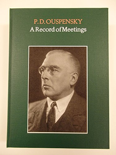 9789072395948: A RECORD OF MEETINGS & A FURTHER RECORD 2 volume set [hardback]