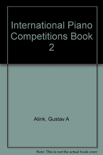 9789072579041: International Piano Competitions Book 2