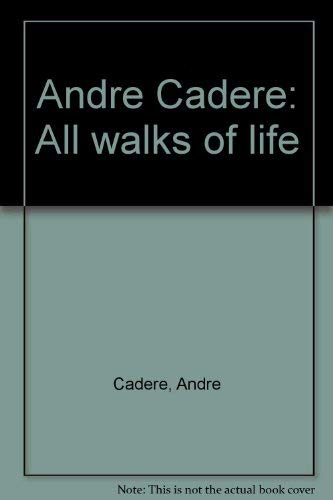 9789072893116: A Andre Cadere: All Walks of