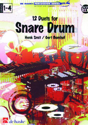 9789073252301: 12 Duets for Snare Drum
