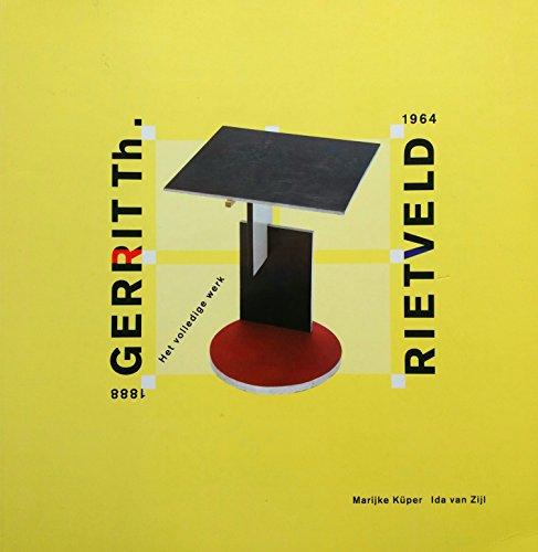 RIETVELD Gerrit Th. Rietveld 1888 - 1964: Marijke Kuper; Ida