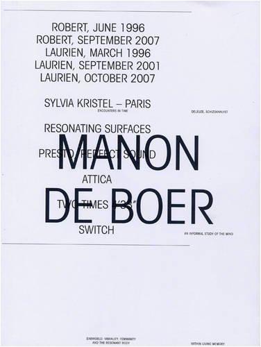 Manon de Boer: Lars Bang Larsen;