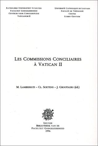 9789073683198: Les Commissions Conciliaires a Vatican II (Instrumenta Theologica)