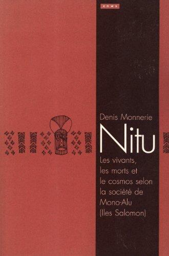9789073782587: Nitu: Les vivants, les morts et le cosmos selon la société de Mono-Alu