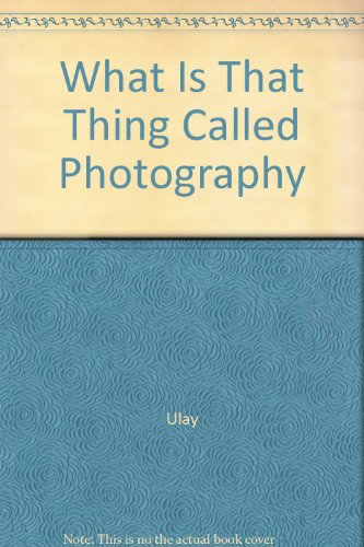 What is that thing called photography, Special: Ulay (Uwe Laysiepen)