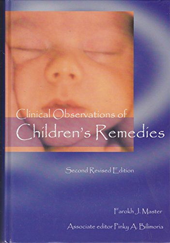 9789074456111: Clinical Observations of Children's Remedies