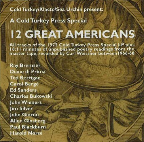 12 Great Americans CD (CD-Audio): Carl Weissner