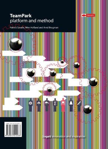TeamPark platform and method - From crowd to community: Patrick Savalle, Wim Hofland, Arnd Brugman