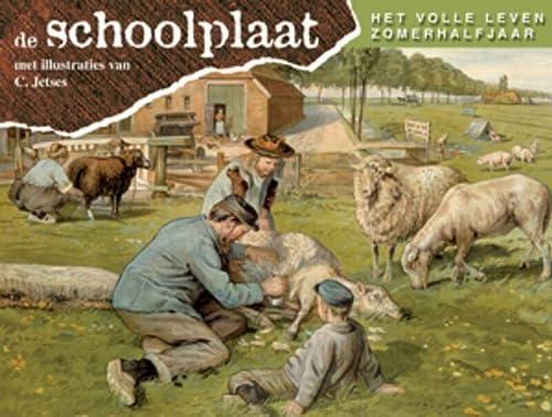 Schoolplaat het volle leven zomerhalfjaar / druk: F. van Dulmen,