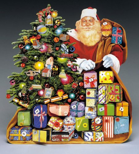 9789076048284: Father Christmas Advent Calendar