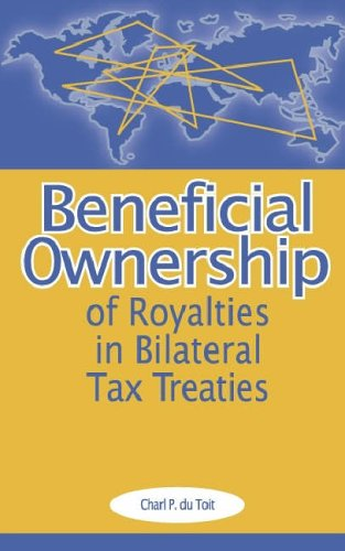 9789076078304: Beneficial Ownership of Royalties in Bilateral Tax Treaties
