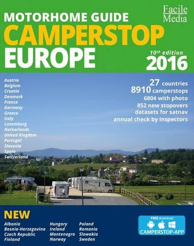 9789076080444: Motorhome Guide Camperstop Europe 27 Countries 2016 2016