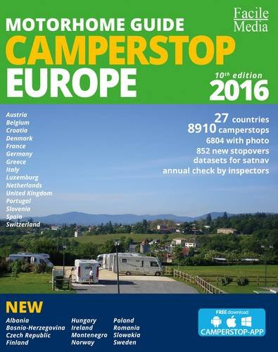 9789076080444: Motorhome Guide Camperstop Europe 27 Countries 2016