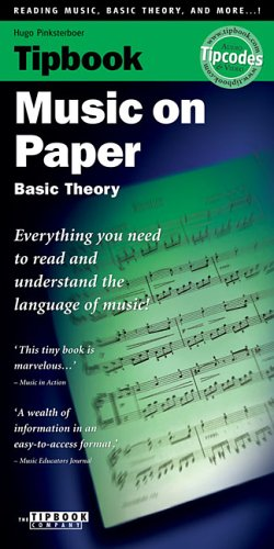9789076192321: Tipbook - Music on Paper: Basic Theory
