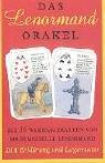 9789076274409: Das Lenormand Orakel. Die 36 Wahrsagekarten von Mademoiselle Lenormand