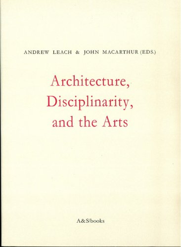9789076714370: Architecture, Disciplinarity and the Arts