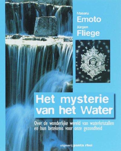 9789076771922: Het mysterie van het water