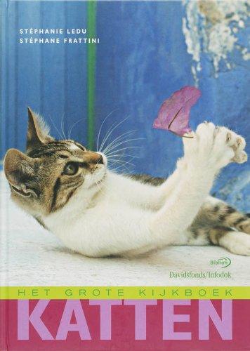 Katten (Het grote kijkboek): Ledu, St?phanie, Frattini,