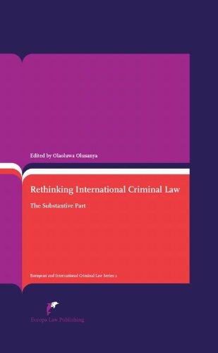 Rethinking International Criminal Law; The Substantive Part.: Olusanya, Olaoluwa.