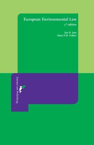9789076871769: European Environmental Law: Third Revised Edition