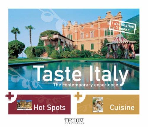 Taste Italy: The contemporary experience: Niefanger, Birgit