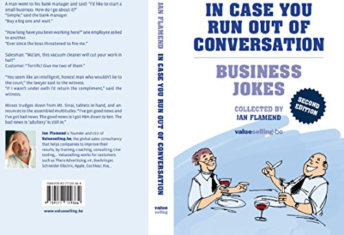 9789077129364: In case you run out of conversation. Business jokes