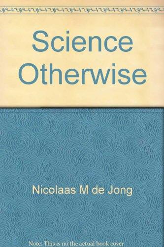 Science Otherwise: De Jong, Nicolaas