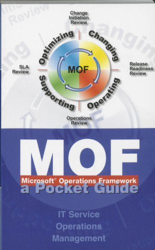 9789077212103: Microsoft Operations Framework (MOF): IT Service Operations Management