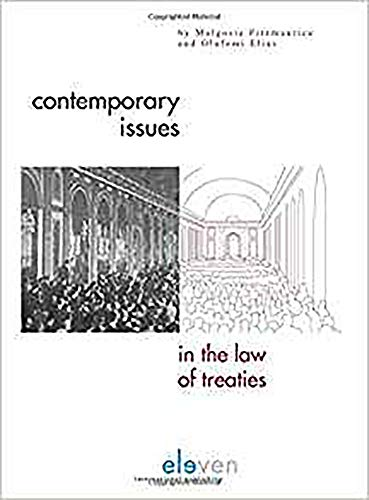 9789077596067: Contemporary Issues in the Law of Treaties