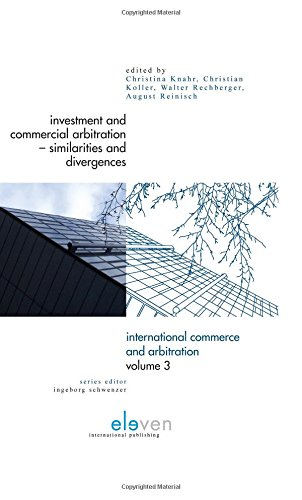 9789077596814: Investment and Commercial Arbitration - Similarities and Divergences (International Commerce and Arbitration)