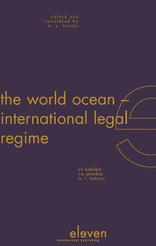 The World Ocean: International Legal Regime (Foreign: Anatolii L. Kolodkin,