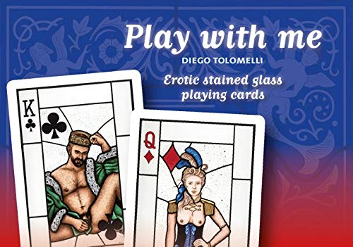 9789077957301: Play with me: Erotic stained glass playing cards