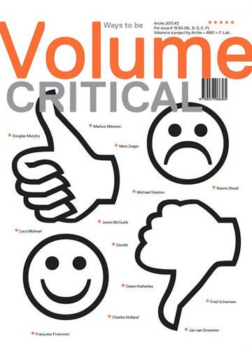 9789077966365: Volume 36 - Ways to be Critical - Summer 2013