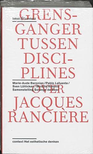 Jacques Ranciere set a 2 Ex: Bevat de Titels; Het Esthetische Denken; Over Het Werk van Jacques ...