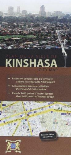 Kinshasa City Map R