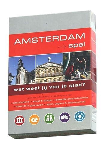 9789078369035: Amsterdamspel / druk 1: een leuk en informatief vragenspel over Amsterdam