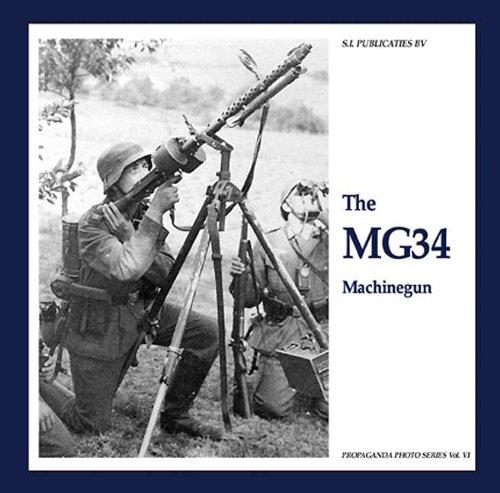 The MG34 Machinegun (Hardback): Guus De Vries